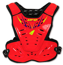 UFO Reactor 2 Evolution Chest Protection - Fluorescent Red