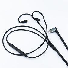 Lightning jack Cable for Westone W10 W20 W30 W40 W50 W60 to iphone 7 /7plus