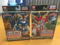 Superior Defender Gundam Force Starter Set  CCG Set 1 and 2