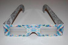 20x Gafas de difracción fractal tramas artificiales Arco Iris visión