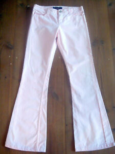 JUICY COUTURE Jeans Schlaghose Stil Farbe Rosa 100% CO Gr.W27 (34/36)