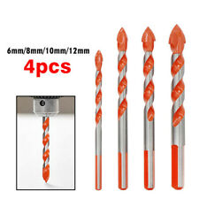 4Pcs Ultimate Drill Bits Multifunctional Ceramic Glass Punching Hole Working