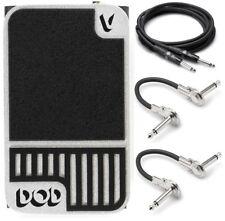 New DigiTech DOD Mini Volume Guitar Effects Pedal! Hosa Cables!