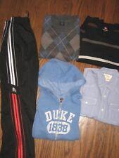 lot boys 7-8 sweatpants shirts tops hoodie zip jacket Gap Quiksilver sweaters