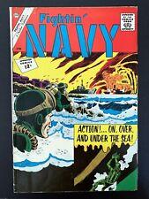 FIGHTIN' NAVY #104 CHARLTON COMICS 1962 FN