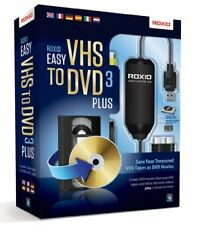 Roxio Easy VHS to DVD 3 Plus Win ml