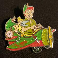 Disney Peter Pan & Tinker Bell Character Plane Mystery Hkdl Pin