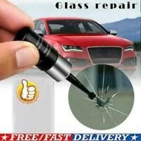 Automotive Glass Nano Repair Fluid Car Window Glass Crack Chip Repair Tool Kit