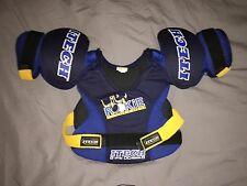 Youth Hockey Chest & Shoulder Pad Lil Rookie Series iTech Sp 105 Size Medium