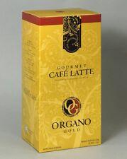 Organo Gold Gourmet Cafe Latte Coffee With Ganoderma Lucidum (1 Box of 20