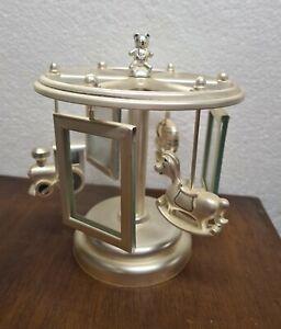 carillon portafoto , giostra in metallo con giochi per bambini. Profili mascagni