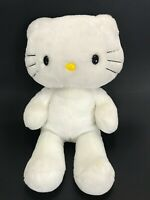 "Build A Bear Hello Kitty Stuffed Animal White Large 19"" Plush Toy Gift Soft"