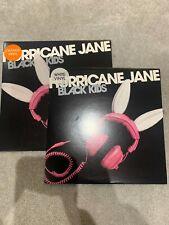 """New listing Black Kids 2 x 7"""" Coloured Orange White Vinyl Hurricane Jane Mint Bernard Butler"""