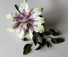 Sucre Sanctuaire Spray fleur, Medium, cake topper, gomme pâte, mariage