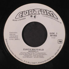 CURTIS MAYFIELD: Superfly / Freddie's Dead 45 (dj, close to M-, re) Funk