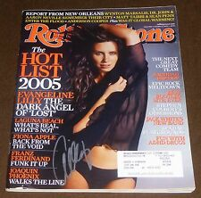 Evangeline Lilly Signed Rolling Stone Magazine October 6, 2005 Issue #984 Lost