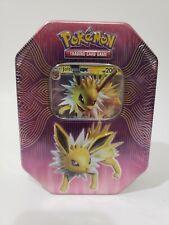 New listing Pokemon Tcg Elemental Power Tin Jolteon Gx - Brand New & Factory Sealed!