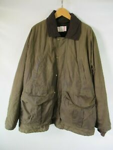H0626 VTG C.C.Filson Men's Oil Shelter Cloth Wax Jacket Made in USA Size L