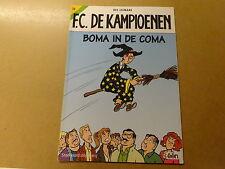 STRIP / F.C. DE KAMPIOENEN 22: BOMA IN DE COMA   Herdruk 2005