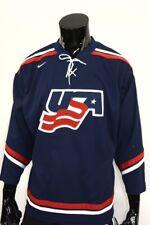 Nike Team Usa United States America Jersey Ice-Hockey Olympics Shirt Size S