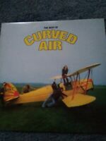 Curved Air ‎– The Best Of Curved Air Vinyl, LP, Compilation K 36015
