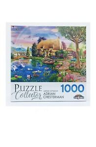 1000 piece jigsaw puzzles Lakeside Cottage by Adrian Chesterman