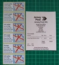 More details for 2015 jersey post & go jersey post hq churchill 24.1.65 flag collector strip