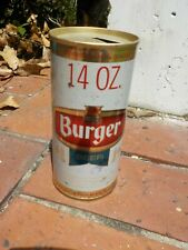 14 Oz Burger Straight Steel Old Beer Can