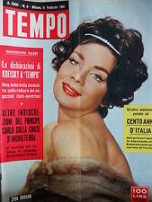 TEMPO n°6 1961 Ziva Rodann - Martine Carol - Mina e Milva  [C86]