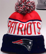 New England Patriots NFL Cuffed Sideline Acrylic Ski Hat Winter Beanie Adult