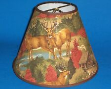 Deer Handmade Lamp Shade Hunting Lampshade