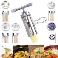 Ravioli Pasta Maker Machine Noodle Stainless Spaghetti Roller Steel Kitchen New