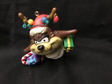 Warner Bros Looney Tunes Tornado Tasmanian Devil Reindeer 3�H Ornament