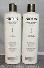 Nioxin Scalp Therapy Conditioner Sys 1 Fine/Normal to Thin Hair 16.9 oz (2 pack)