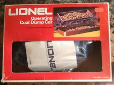 Lionel Trains: Operating Coal Dump Car