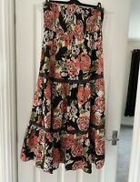 Next Bandeau Maxi Dress Size 14