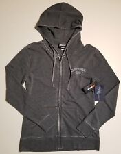 Women's Nascar Fanatics Daytona 500 Full Zip Gray Sweatshirt Hoodie M XL NWT