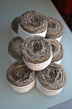 Coloured Ryeland hand spun yarn c.50 grams