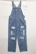 Salopette GAP(Cod. S582)tg S Jeans usato vintage Customized Original con Rotture