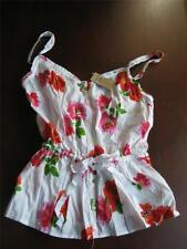 NWT Women's Betty HOLLISTER pink/red Floral Blouse Size S Tank Top MSRP $39.50