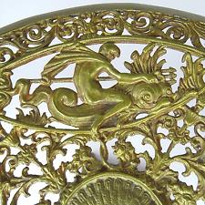 Antique Table Attachment Bronze Gods Fauna Flora Victorian applies Tazza France 19. JH.