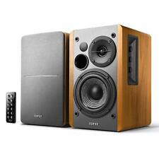 -GB- Edifier R1280DB Braun 2.0 Studio Lautsprecher PC Monitor Boxen Bluetooth