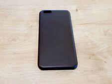 iPhone 6 Plus - 6S Plus Schutzhülle Backcover Case echtes Leder Dunkelbraun