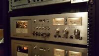 Vintage Akai GXC-740D Cassette Deck - In Service and Working Well