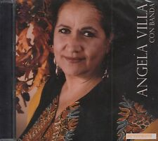 Angela Villa Con Banda CD Nuevo Sealed