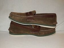 45ca55eb8fc Sperry Top-Sider Men s A O Dark Brown Penny Nautical Loafer - 8.5 M