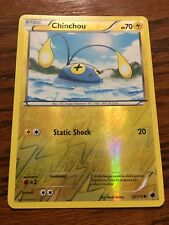 CHINCHOU Reverse Holo B&W PLASMA FREEZE 35/116 Mint/ Near Mint LIGHTNING Type x1