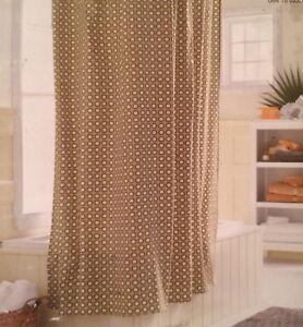 "Threshold Yellow Circle Shower Curtain 72"" x 72"" - Brand New Sealed - Fast Ship"