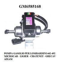 POMPA GASOLIO ELETTRICA PER LOMBARDINI 442-492 DCI LIGIER - MICROCAR GM6585168