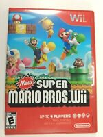 New Super Mario Bros. - Nintendo Wii (2009)  Tested/Works CIB
